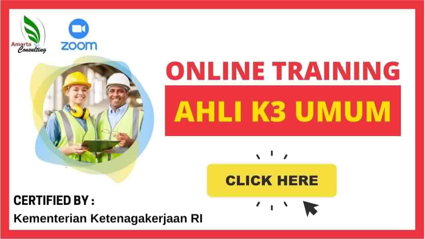 Online Training Ahli K3 Umum